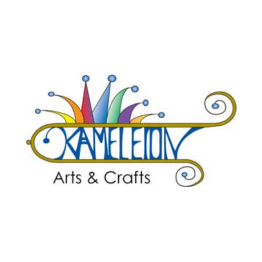Kameleion by karin klapproth kreation for Arts and crafts logo